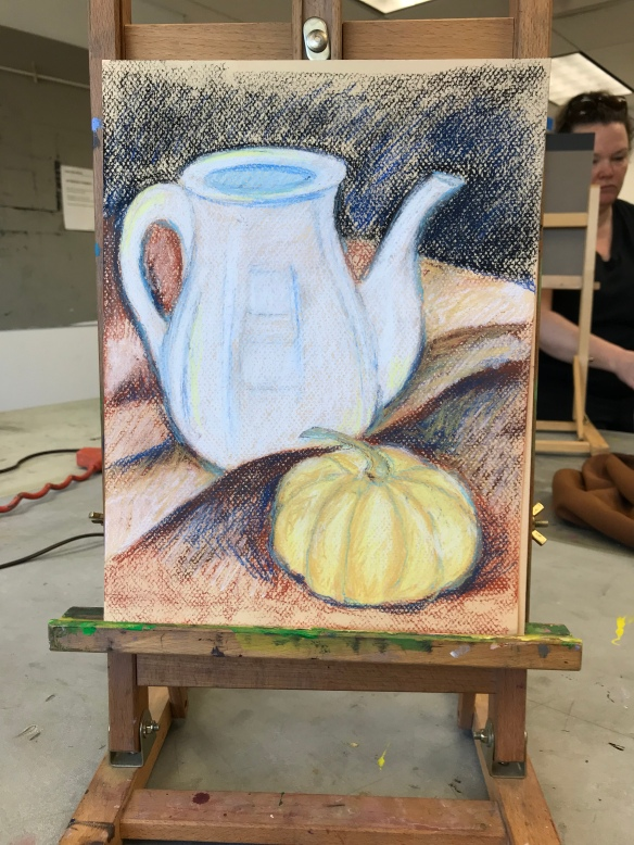 Still life first sketch