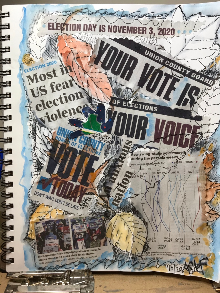 Election Day collage