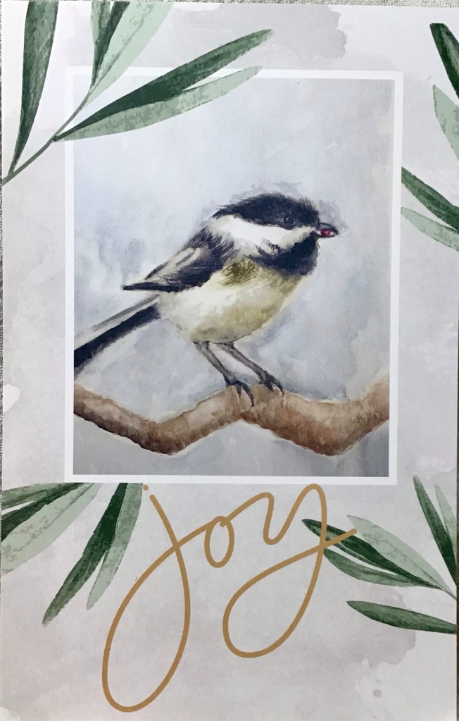 Chickadee , watercolor