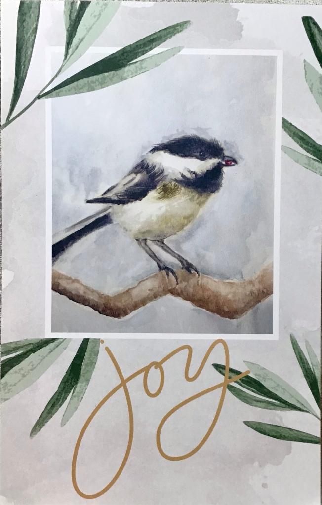 Chickadee , watercolor